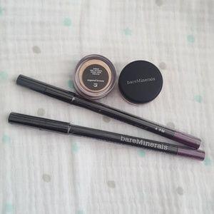 Bareminerals eye color and eye liner